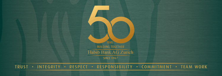 Habib Bank AG Zurich - 50 Years